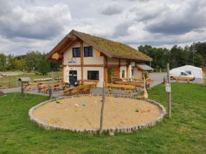 Bild Seekate Gröbern mit Sandkastn / Kinderspielplatz