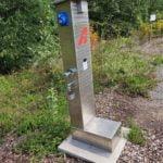 Strom-Wasser-Abwasser-Waldresort-Grobern