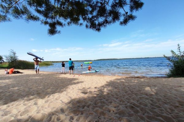 SUP Beach Grobern Lake