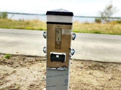 WoMo Stellplatz Pouch - Stromautomat 2