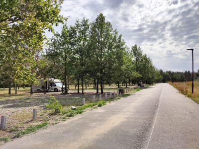 Wohnmobil Stellplatz Halbinsel Pouch B100 Camping Site