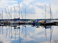 Hafen Mühlbeck - Segelboote an der Goitzsche